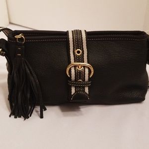 The Sak Small Black Shoulder Bag